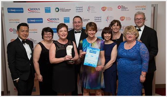 CPF wins BMJ respiratory team of the year award